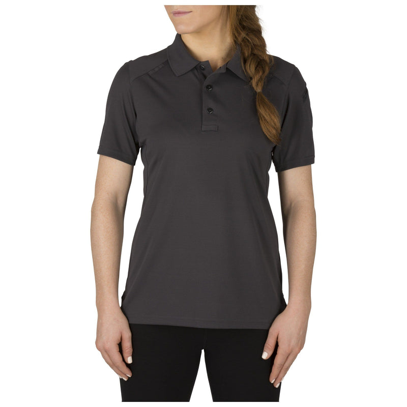 5.11 Tactical Shirts Charcoal / Medium 5.11 Tactical Womens Helios Short Sleeve Polo