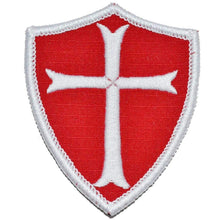 Knights Templar - Shield Style Patch 2x3.5