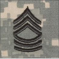 Tactical Gear Junkie Rank MSG Army Rank - SEW ON - ACU