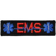 EMS Heartbeat and Stars of Life - 1x3.75 Patch