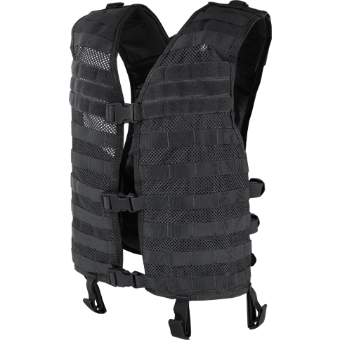 Condor Tactical Gear Black Condor Mesh Hydration Vest