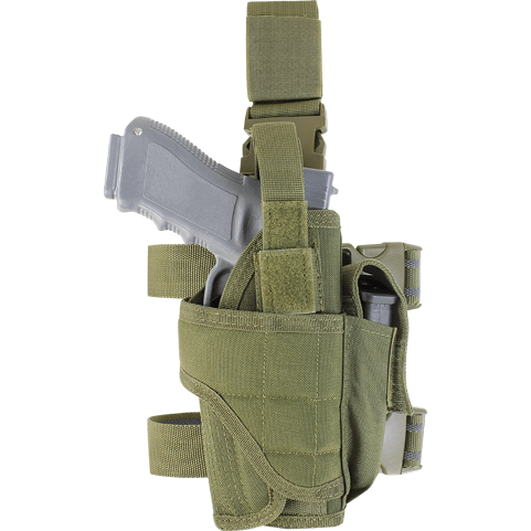 Condor Tactical Gear Olive Drab Condor Tornado Tactical Leg Holster