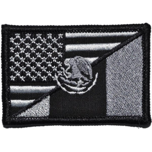 Mexico / USA Flag - 2x3 Patch