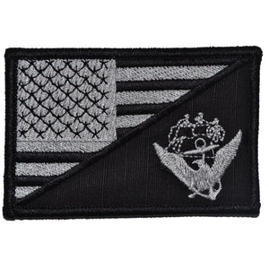 Navy USS Constitution USA Flag - 2.25x3.5 Patch