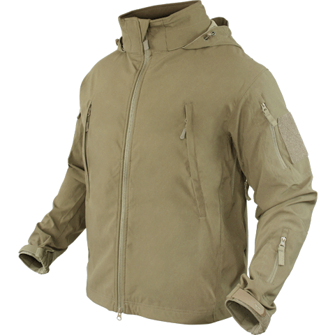 Condor Apparel Tan / S Condor Summit Zero Lightweight Soft Shell Jacket