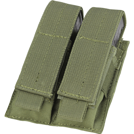 Condor Tactical Gear Olive Drab Condor Double Pistol Mag Pouch