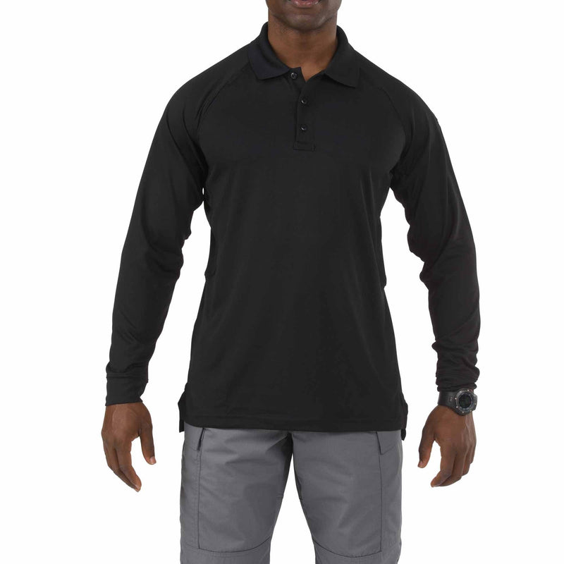 5.11 Tactical Apparel Black / Regular 3X-Large 5.11 Tactical Performance Long Sleeve Polo