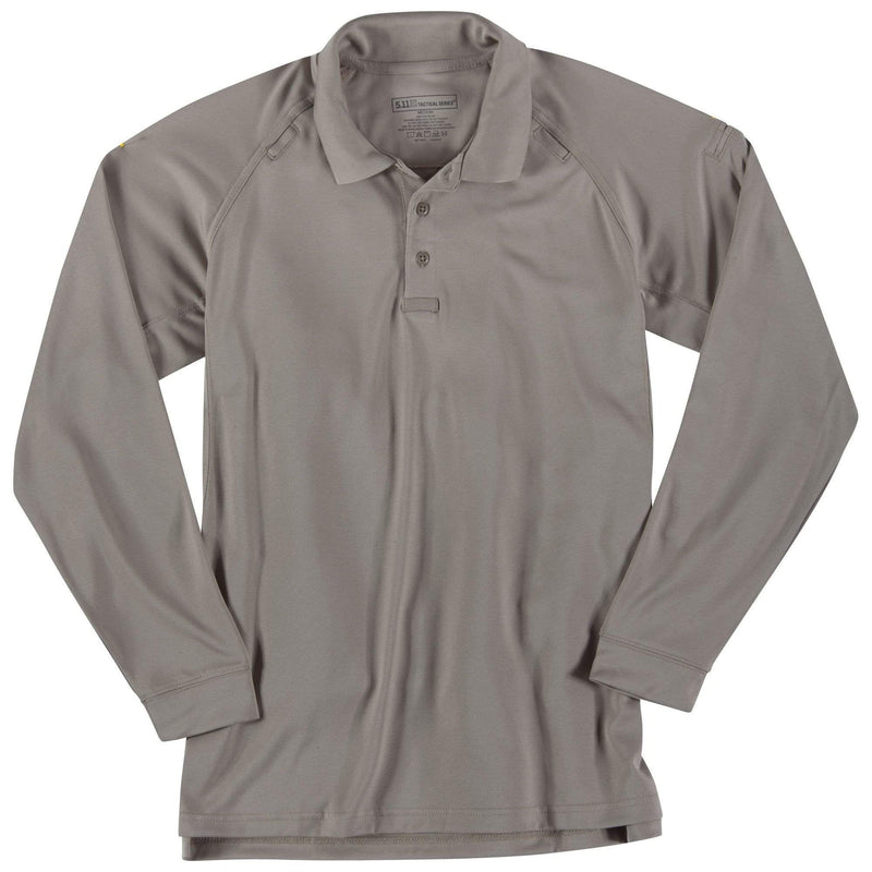 5.11 Tactical Apparel Silver Tan / Regular 2X-Large 5.11 Tactical Performance Long Sleeve Polo