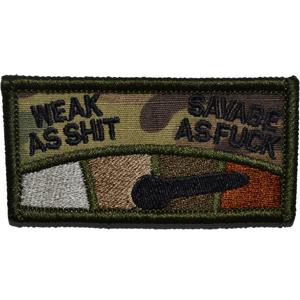 Weak as Shit To Savage As Fuck Meter - 1.5x3 Patch