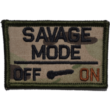 Savage Mode Meter Activated - 2x3 Patch