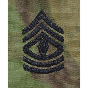Atacs FG Rank w/o Hook Fastener Backing (sew-on) - Enlisted/Officer