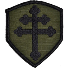 Crusader Cross of Lorraine - 2.5x3 Shield Patch