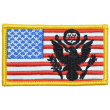 2x3.5 USA Flag with Superimposed U.S. Army Crest