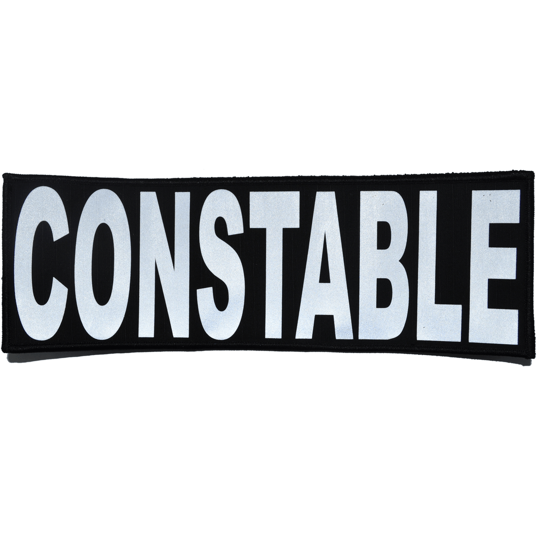 Constable Reflective - 4x12 Patch