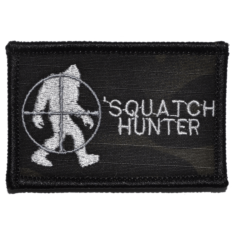 Tactical Gear Junkie Patches MultiCam BLACK Squatch Hunter - 2x3 Patch