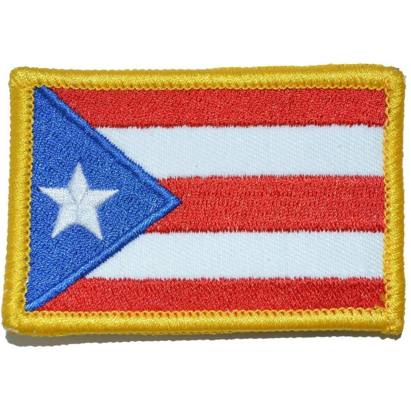 Tactical Gear Junkie Patches Full Color Puerto Rico State Flag - 2x3 Patch