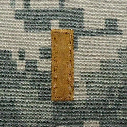 Tactical Gear Junkie Rank 2LT Army Rank - SEW ON - ACU