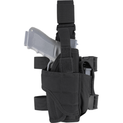 Condor Tactical Gear Black Condor Tornado Tactical Leg Holster