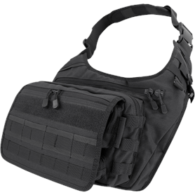Condor Tactical Gear Black Condor Messenger Bag