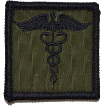 Caduceus Staff of Life - 2x2 Patch