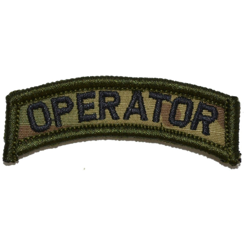 Tactical Gear Junkie Patches MultiCam Operator Tab Patch