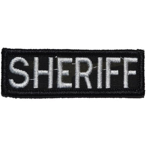 Sheriff Name Tape - 1x3 Patch