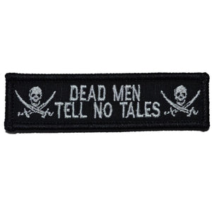 Jolly Roger Dead Men Tell No Tales - 1x3.75 Patch