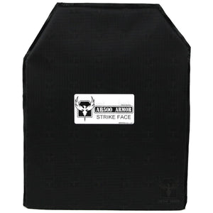 "AR500 Armor Rimelig 11"" x 14"" Advanced Shooters Cut (ASC) IIIA Soft Body Armor"