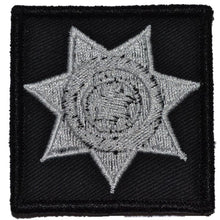 Police Badge - 2x2 Patch