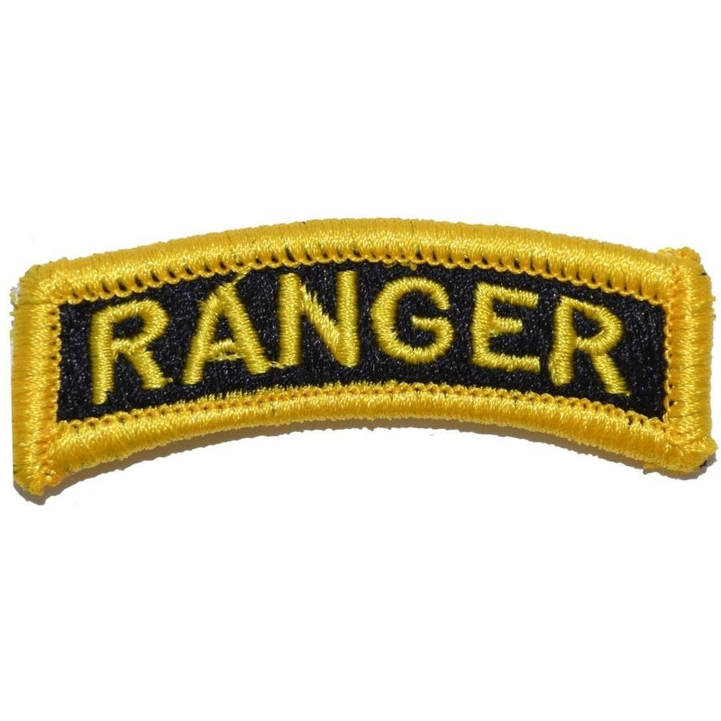 Tactical Gear Junkie Patches Ranger Tab Patch - Black & Gold