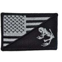 Navy Seal Frog USA Flag 2.25 x 3.5 inch Patch