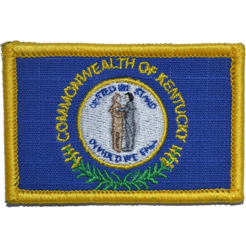 Tactical Gear Junkie Patches Full Color Kentucky Commonwealth State Flag - 2x3 Patch