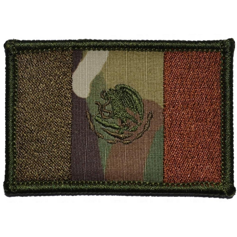 Tactical Gear Junkie Patches MultiCam Mexico Flag - 2x3 Patch