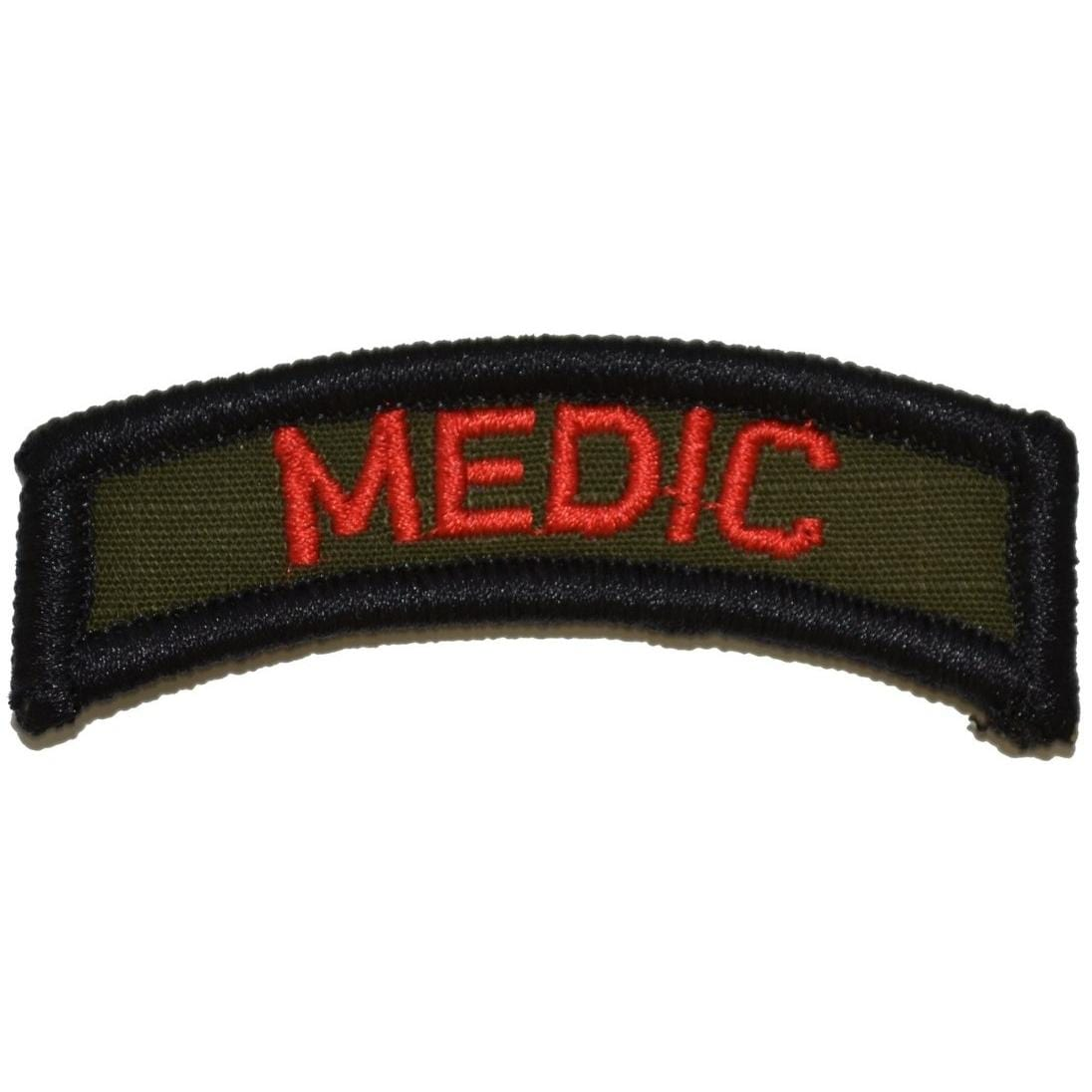 Tactical Gear Junkie Patches Olive Drab Medic Tab Patch