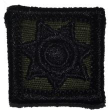 Police Badge - 1x1 Patch