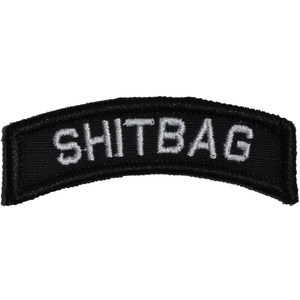 Shitbag  Tab Patch