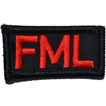 FML (Fuck My Life) - 1x2 Patch
