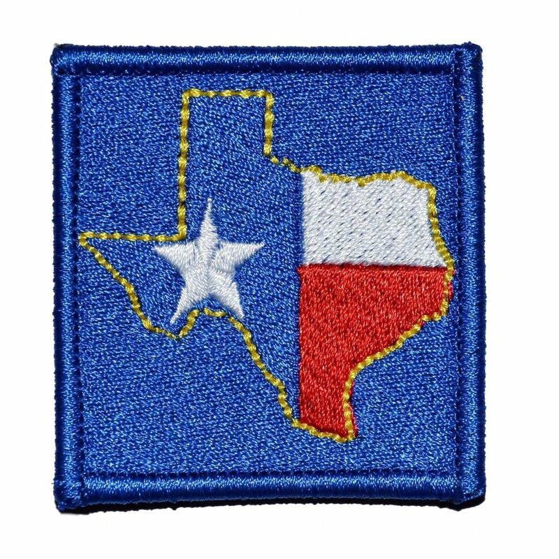 Tactical Gear Junkie Patches Full Color Lone Star State Texas - 2x2 Patch