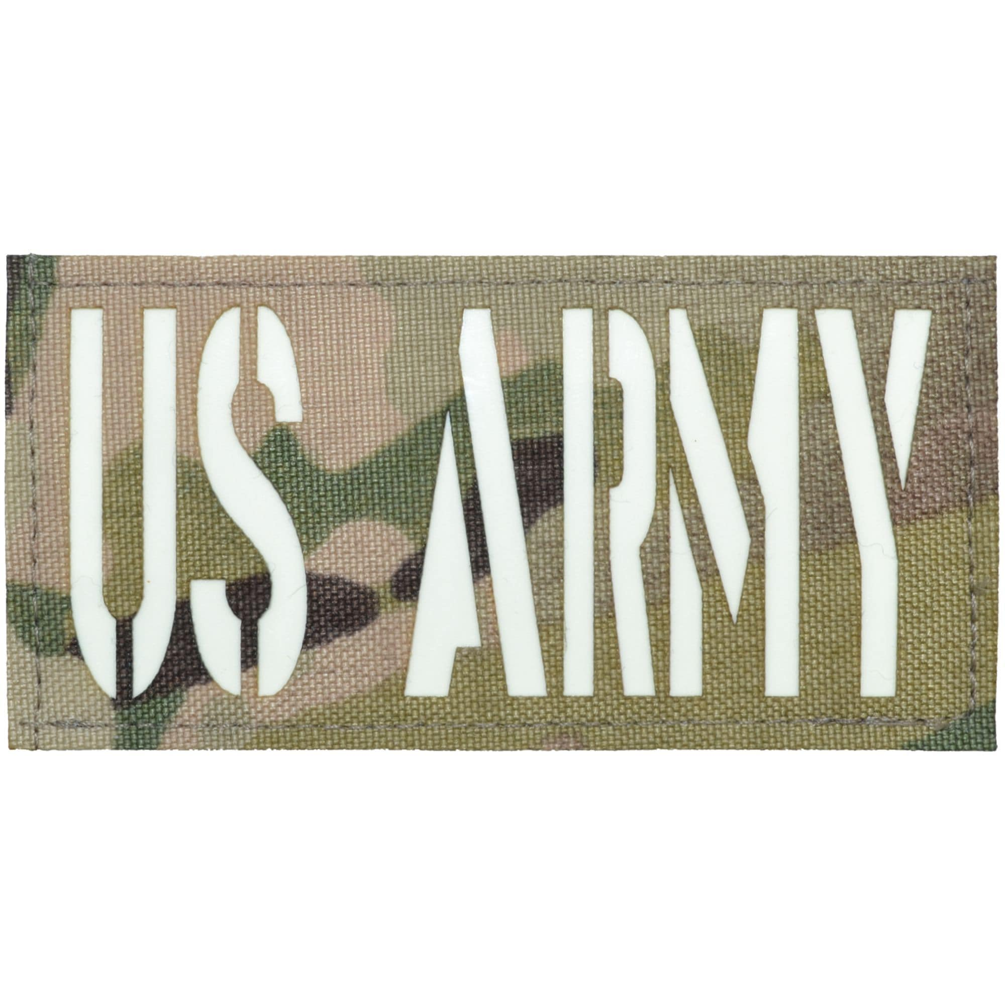 US Army Laser Cut Reflective - 2x4 CORDURA® Patch