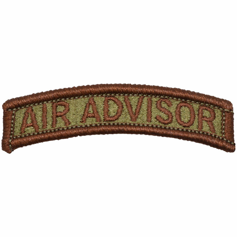 Air Advisor Tab Patch - USAF OCP/Scorpion