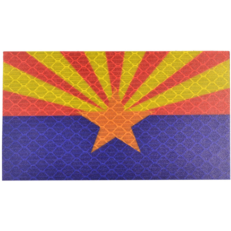 Tactical Gear Junkie Patches Reflective Arizona State Flag - 2x3.5 Patch