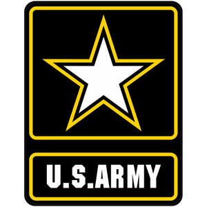 United States Army Emblem - 4x3 inch Sticker