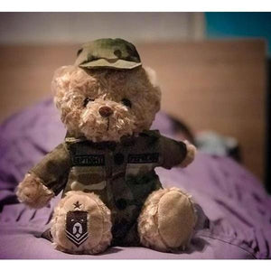 ZZZBears Sgt. Sleeptight in Army Operational Camouflage Pattern