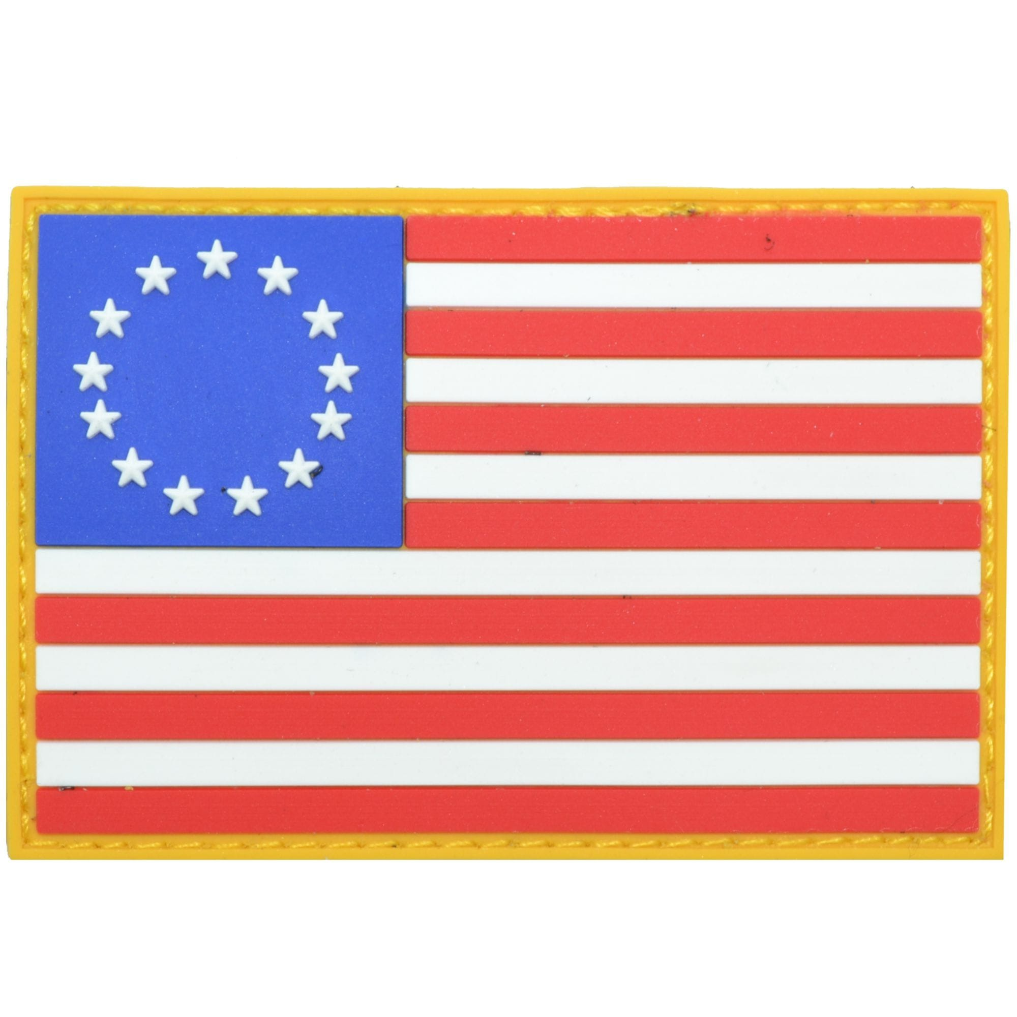 Betsy Ross USA Flag Full Color - 2x3 PVC Patch
