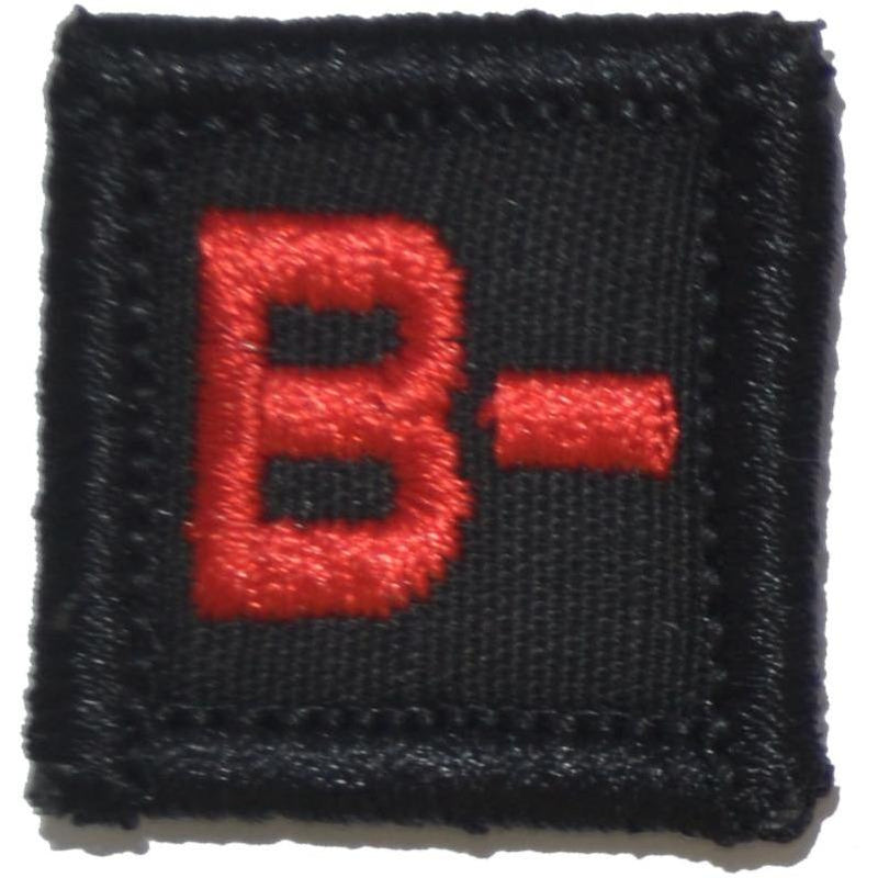 1x1 Blood Type Military / Patch (All Blood Types)