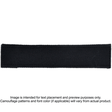 Nylon/Cotton Webbing Custom Name Tape - Black
