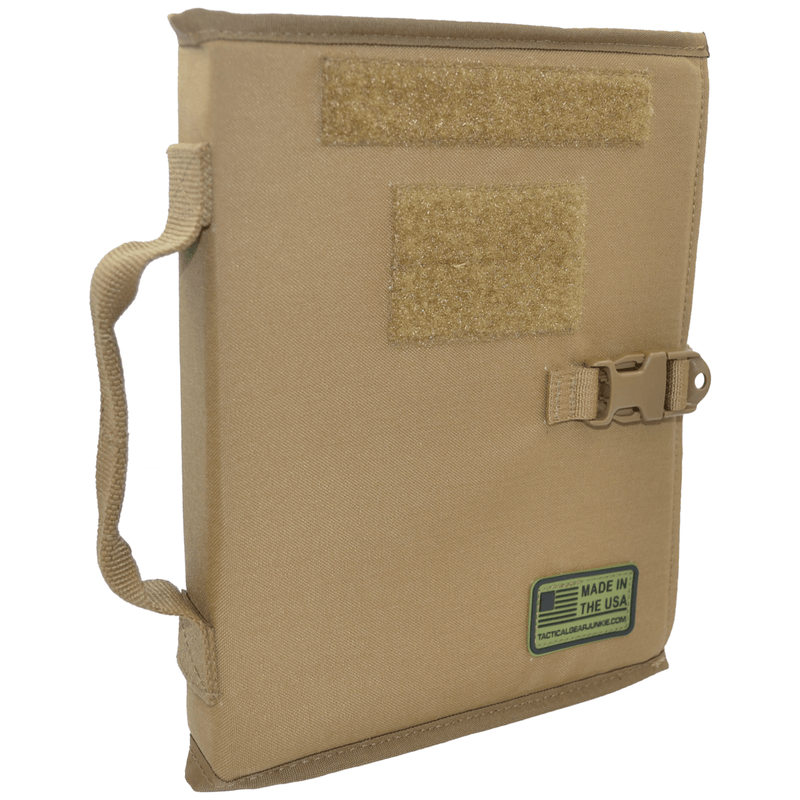 Tactical Gear Junkie Accessories Coyote Brown Tactical Patch Book - American Made