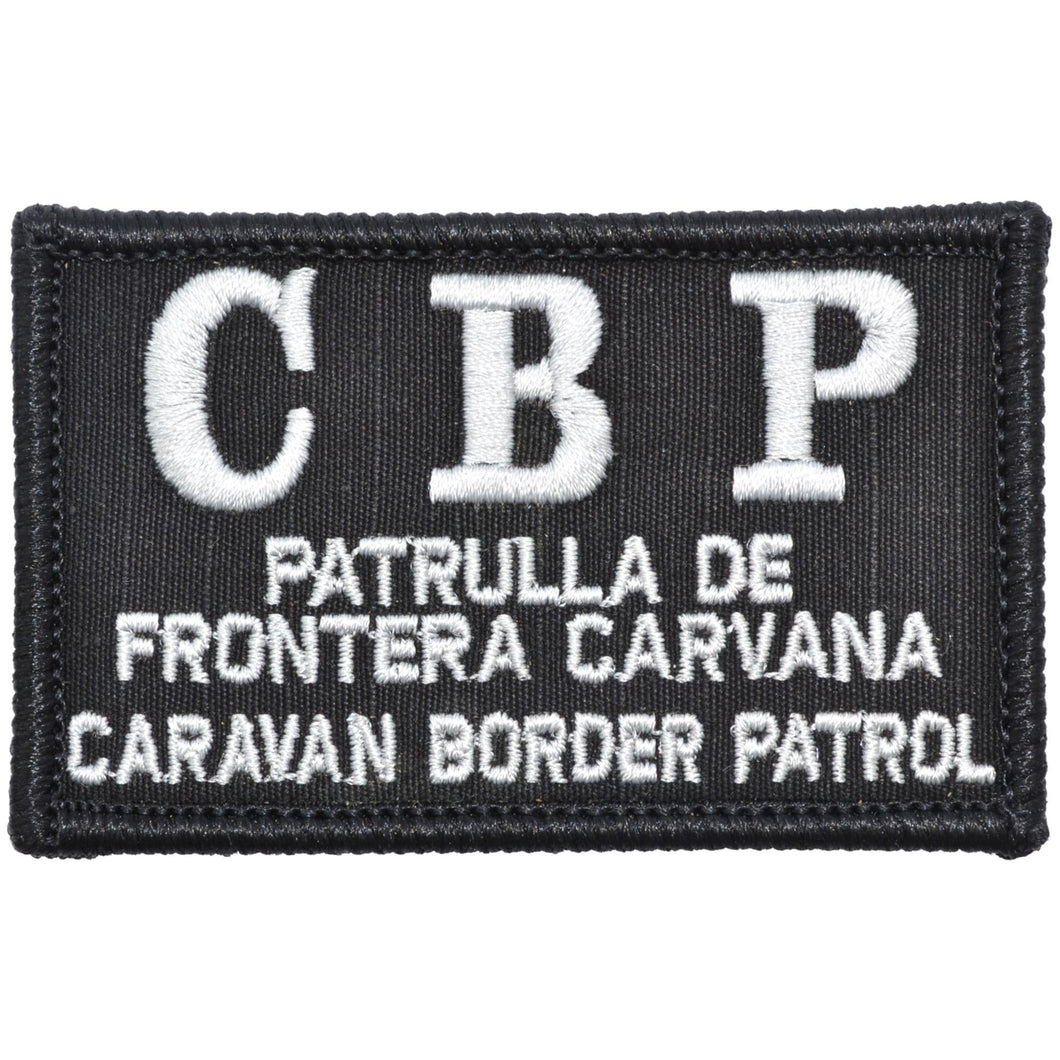 Caravan Border Patrol - 2x3 Patch