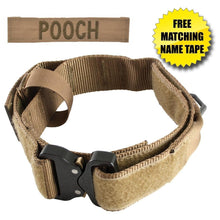 United States Tactical Dog Receiver Collar with COBRA Buckle