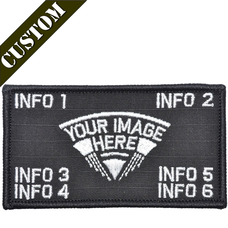 Tactical Gear Junkie Patches Custom Made Combat Plate Carrier Flak Patch - Custom Image